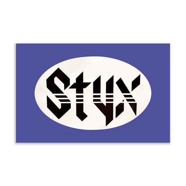 Styx Window Cling