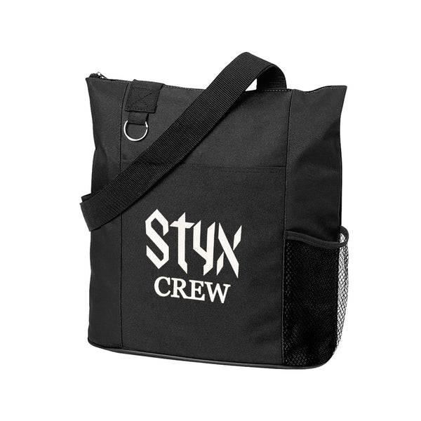 STYX CREW BLACK CANVAS BAG