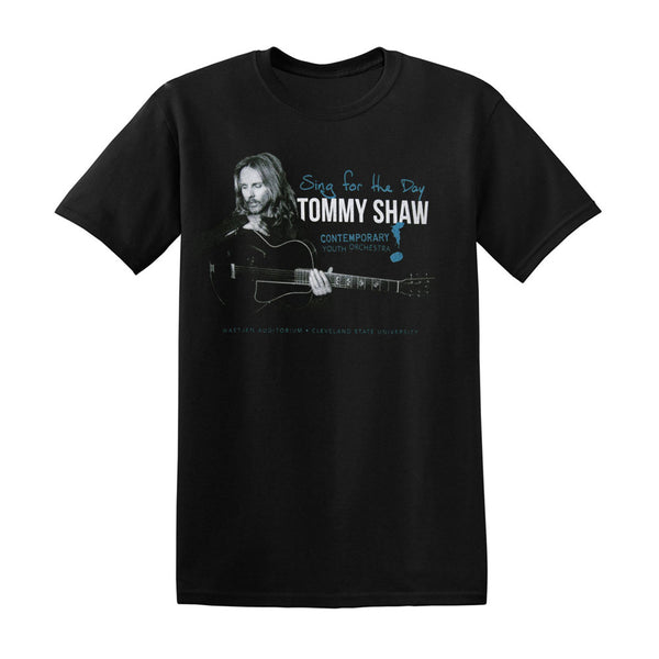 TOMMY SHAW AND THE CONTEMPARARY YOUTH ORCHESTRA: SING FOR A DAY BLACK TEE