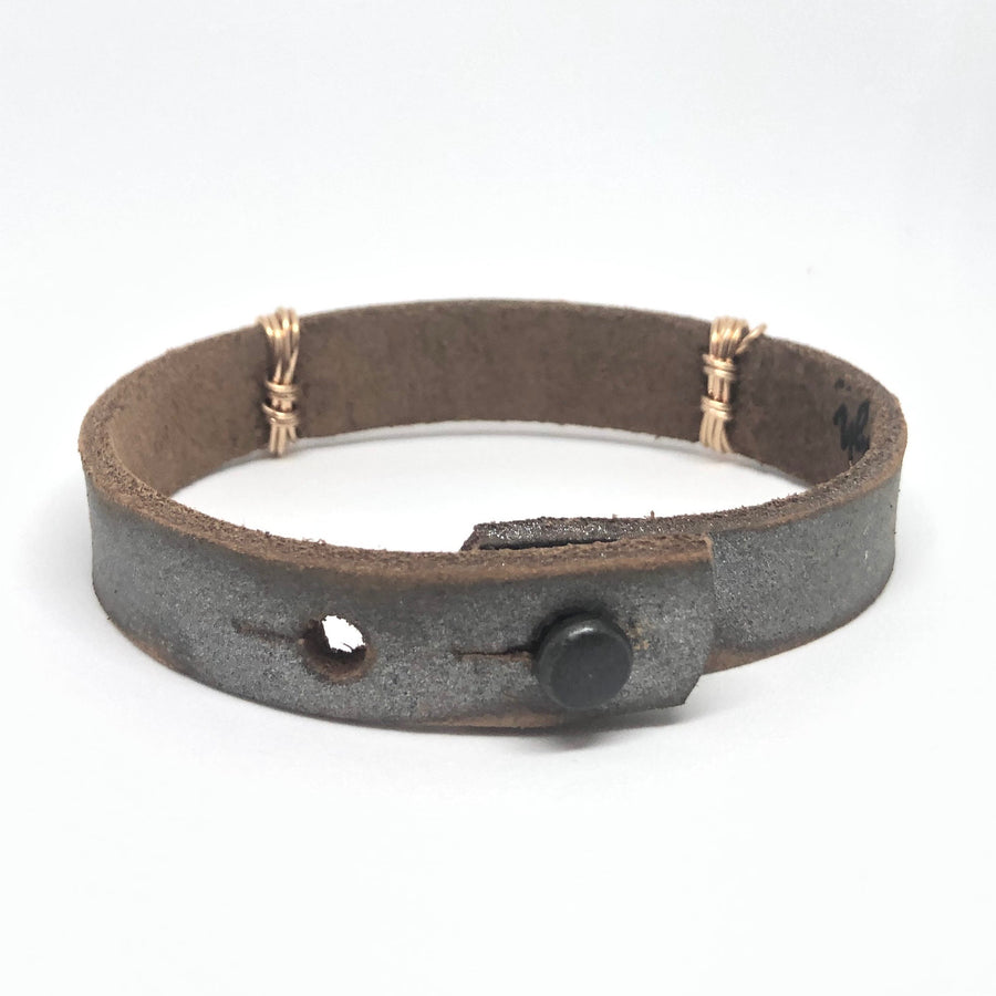 Hope Dealer Women's Pewter/Copper Bracelet