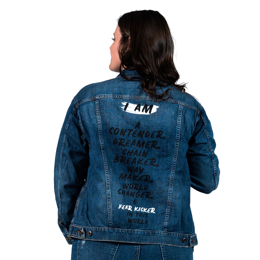 I am a Contender Denim Jacket