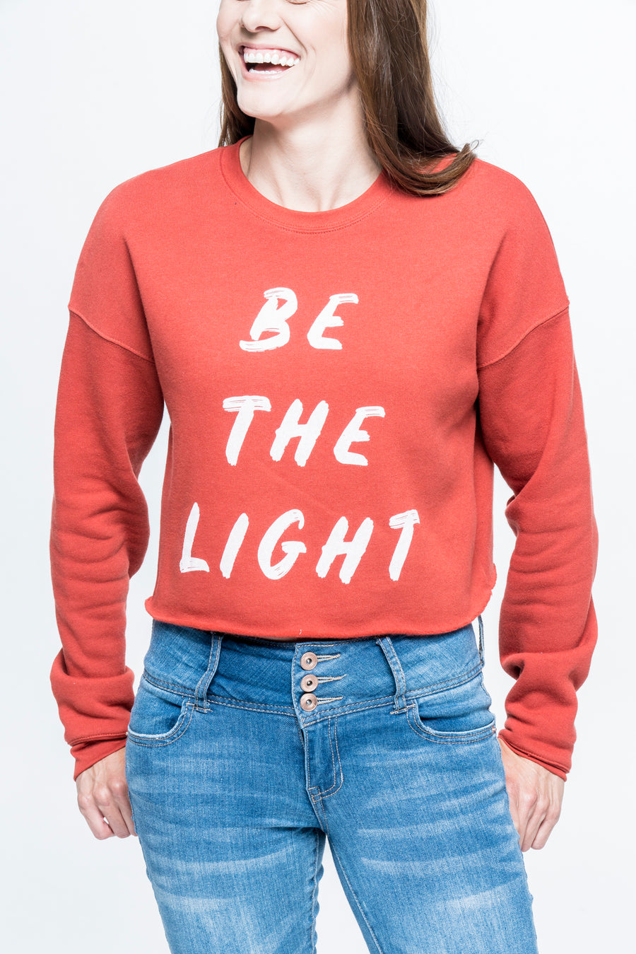 Be the Light Cropped Sweatshirt