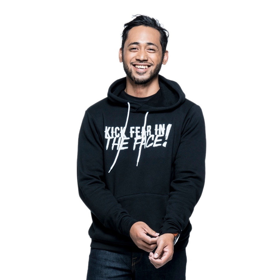 Kick Fear in the Face Hoodie