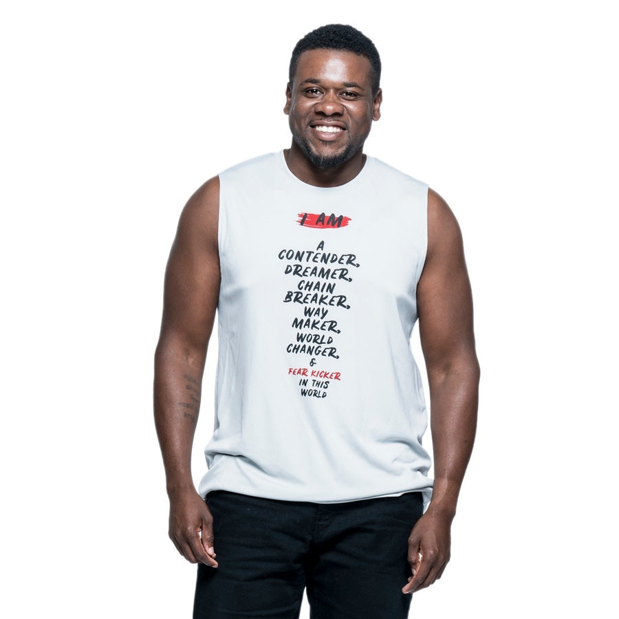 I am a Contender Muscle Tee