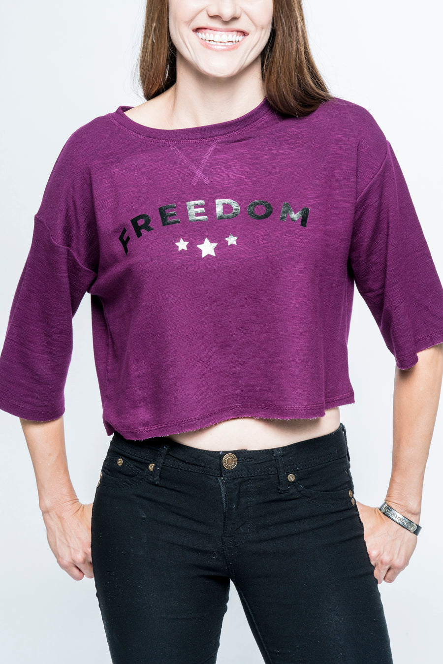 Freedom Cropped Top