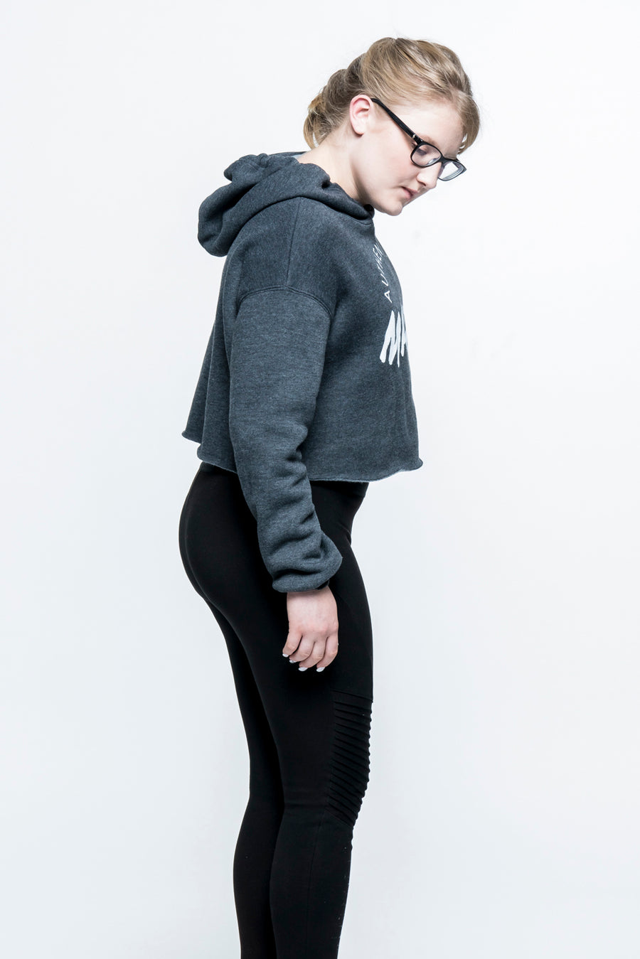 Authentically Made Cropped Hoodie