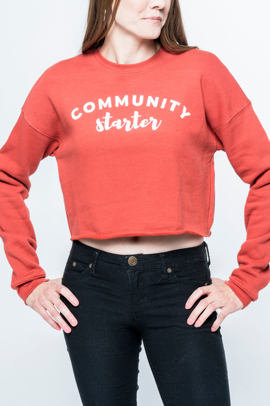 Community Starter Cropped Sweatshirt