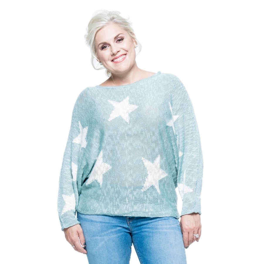 Star Sweater Top