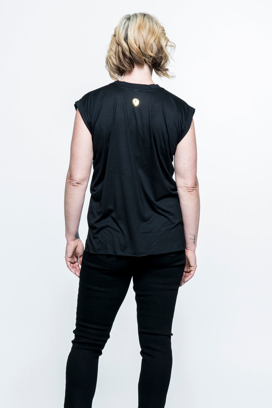 Fear Kicker Sleeveless Top