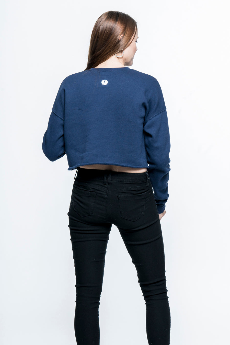 Fear Crusher Cropped Sweatshirt