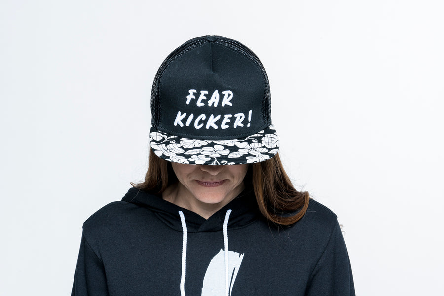 Fear Kicker Hawaiian Trucker Hat