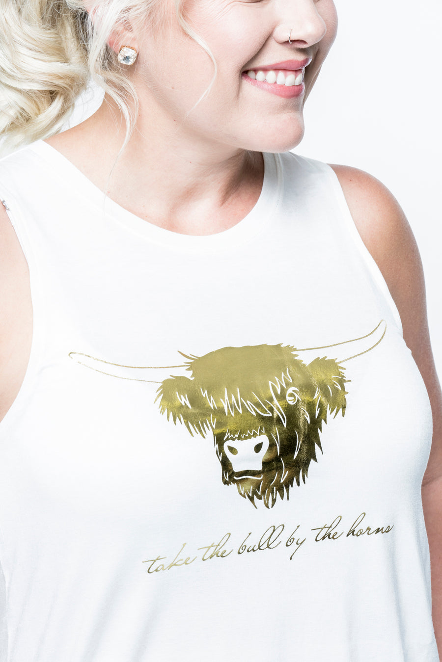 Take the Bull by the Horns Tank Top