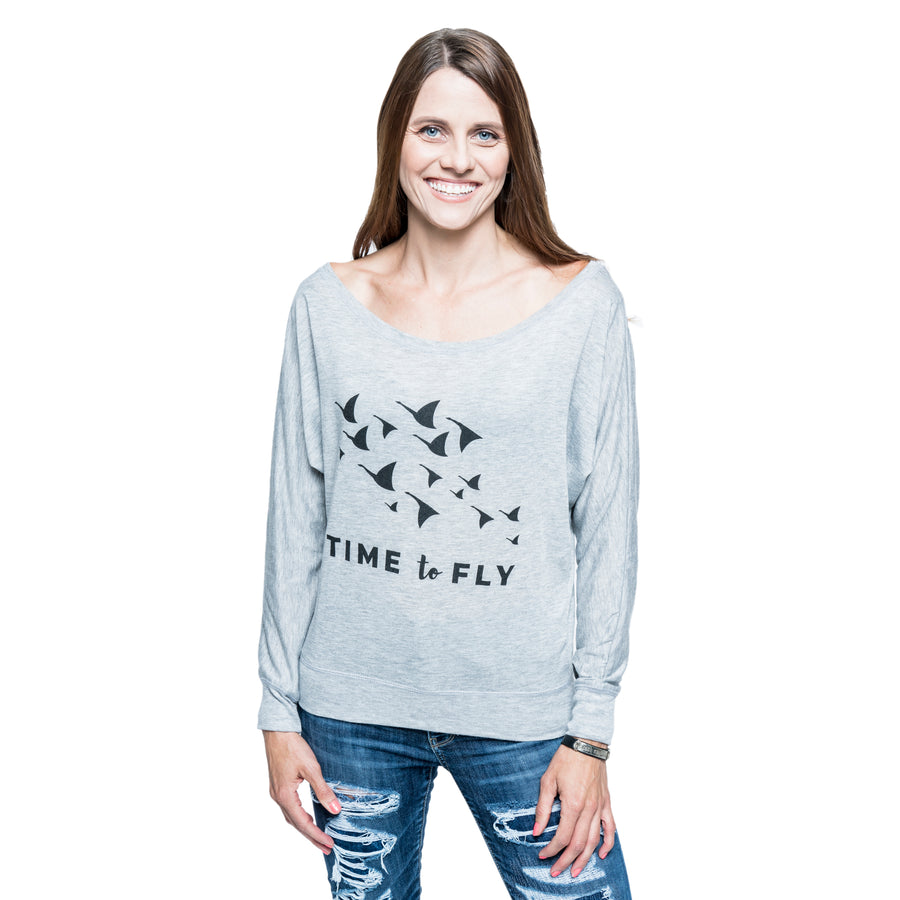 Time to Fly Long Sleeve Top
