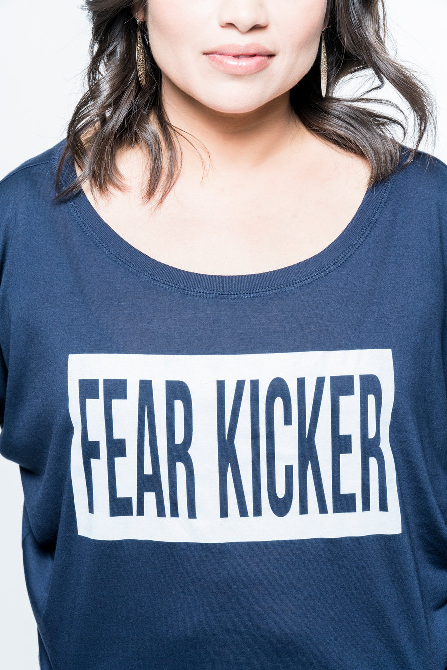 Fear Kicker Long Sleeve Top