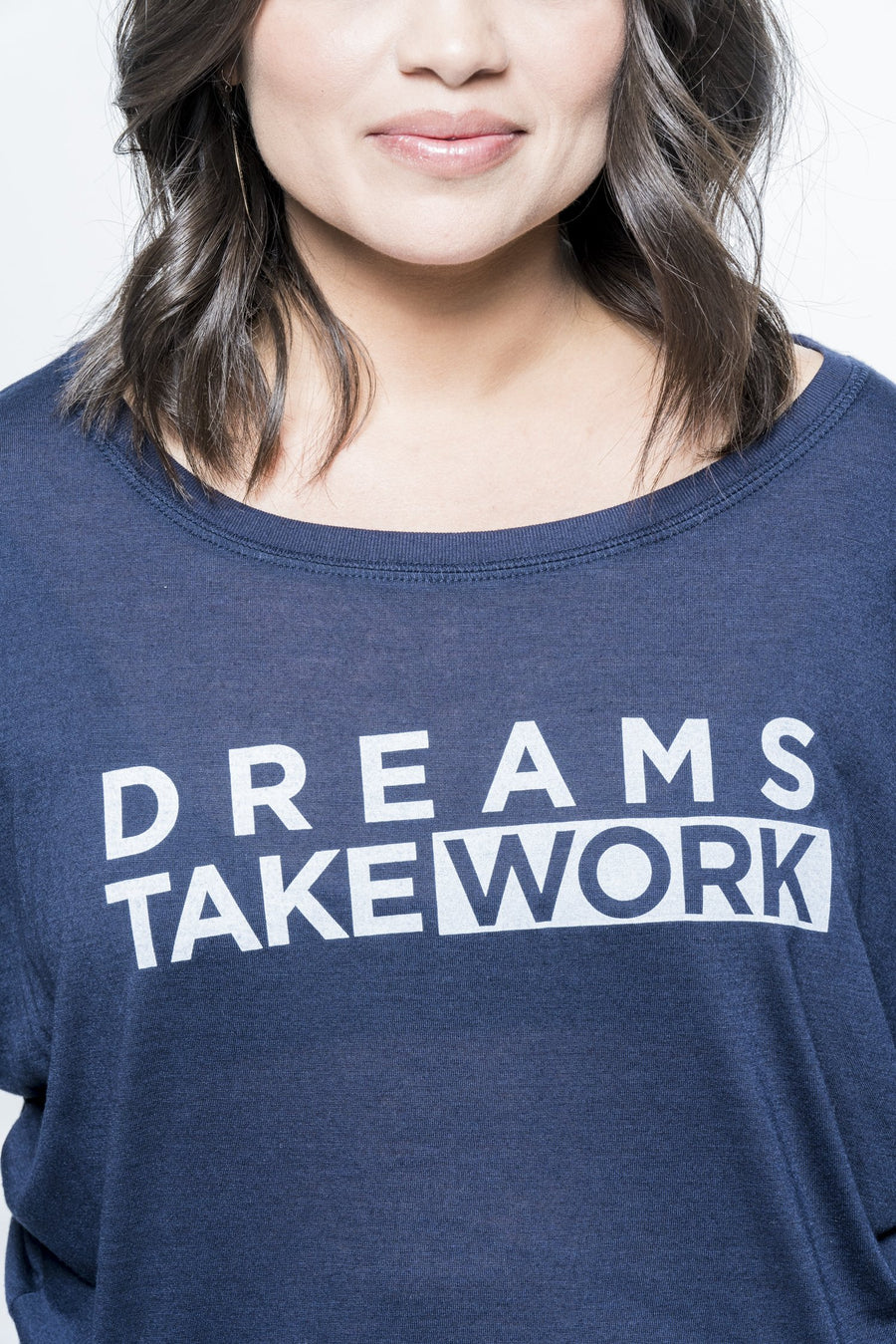 Dreams Take Work Long Sleeve Tee