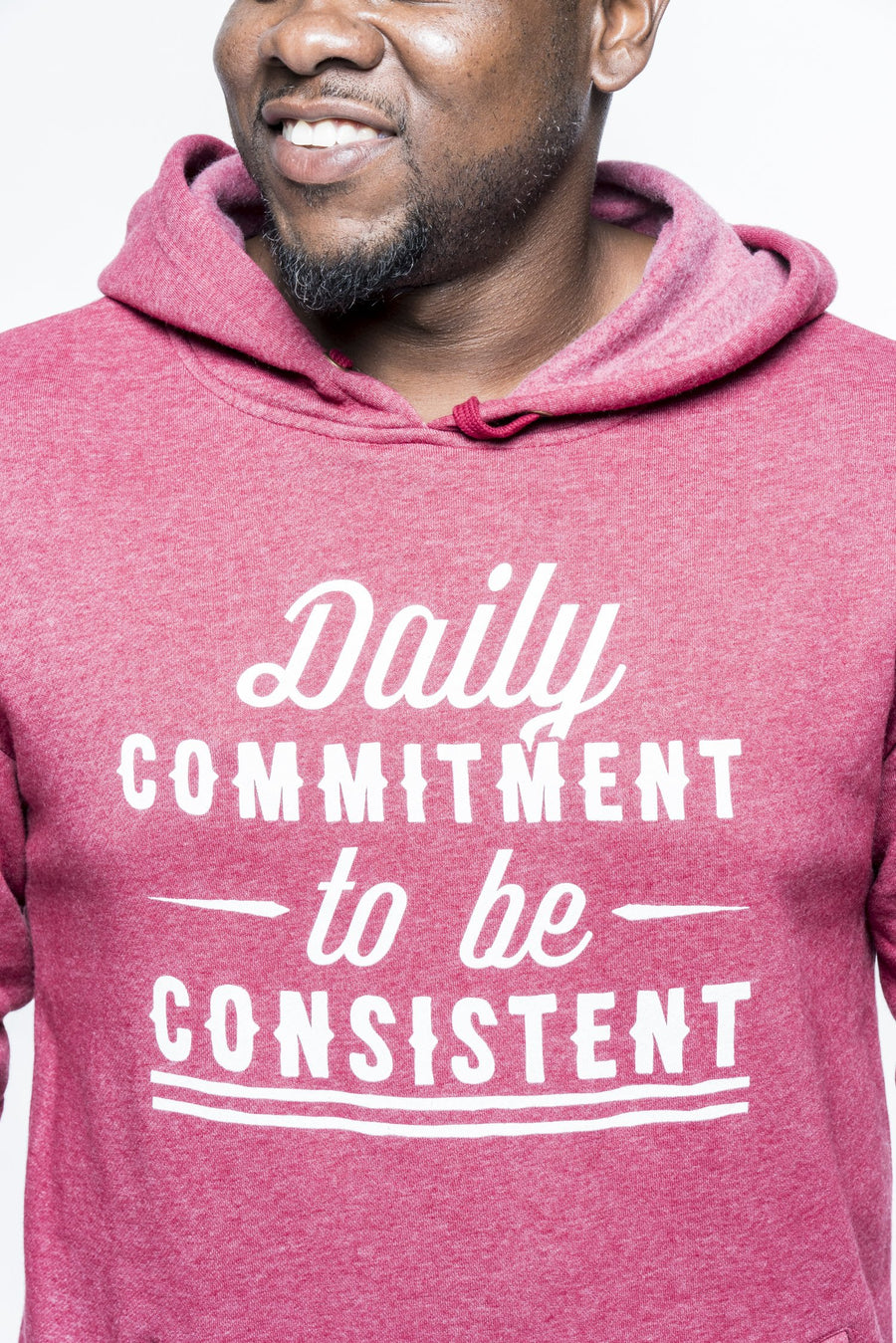 Daily Commitment To Be Consistent Hoodie