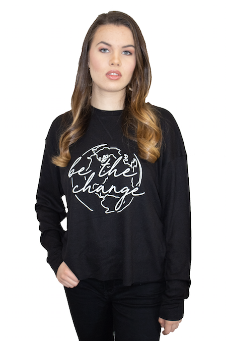 Be the Change Long Sleeve Top