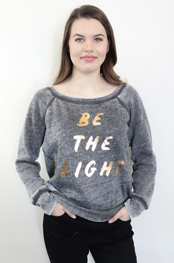 Be the Light Fleece Sweatshirt