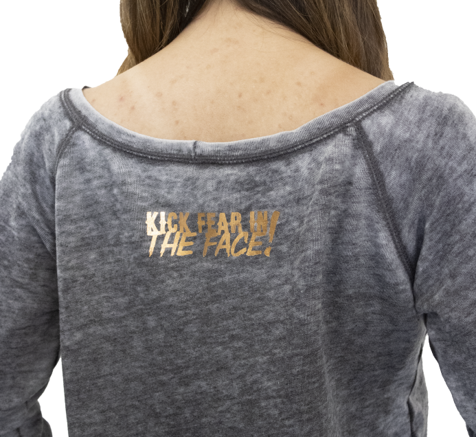 Love Hope Peace Fleece Sweatshirt