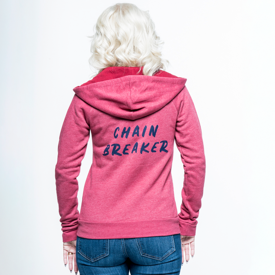 Chain Breaker Zip-Up Hoodie