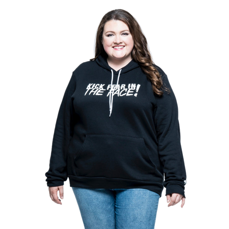 Kick Fear in the Face Plus Hoodie