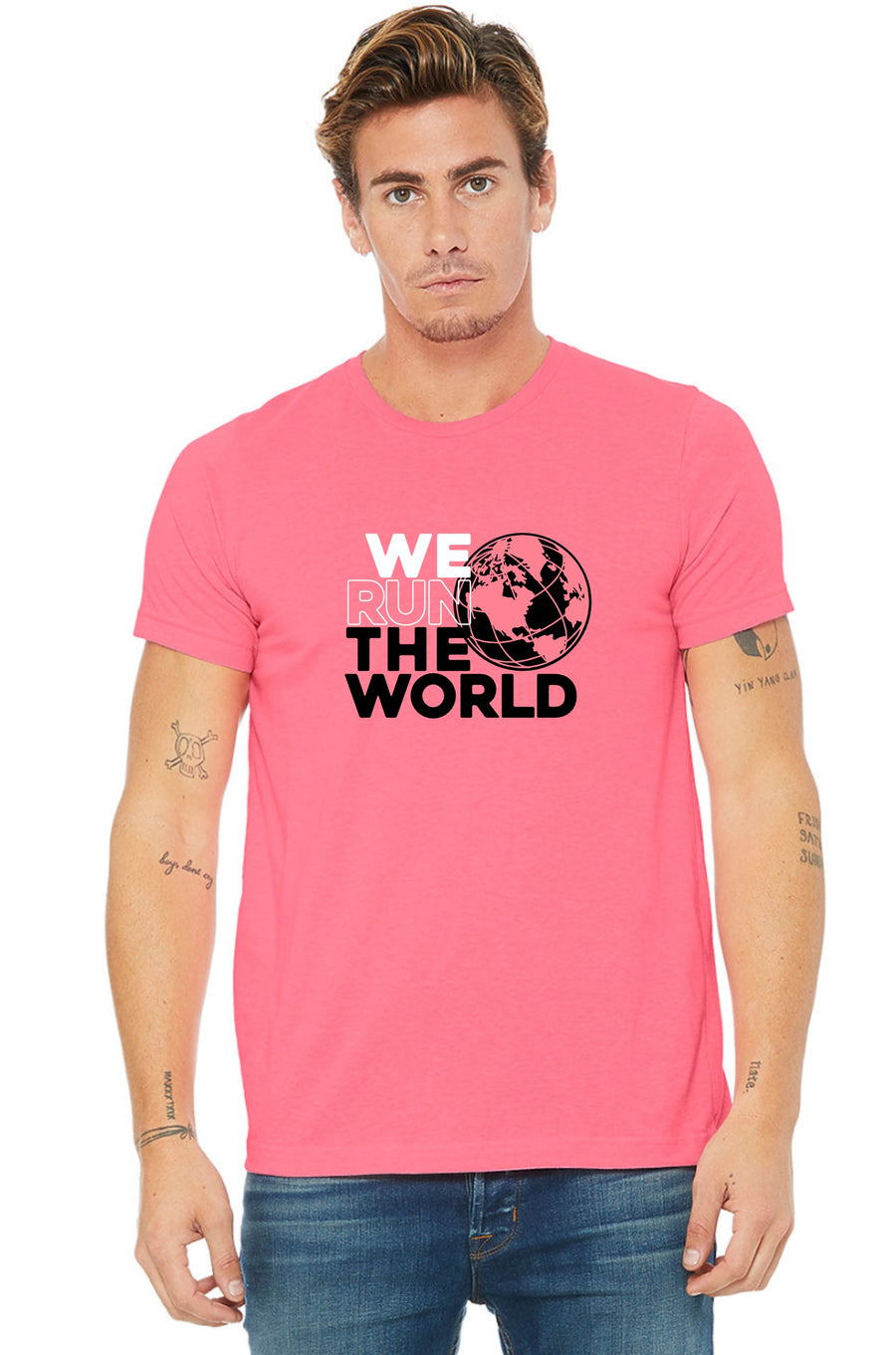 PREORDER We Run the World Unisex Tee