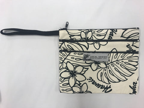 3-Zippered Wristlet