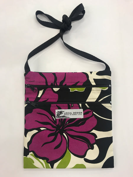 Medium Cross-Body Purse w/ Back Pocket & Lining