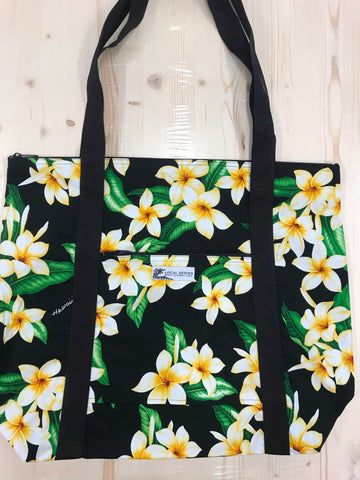XL Zippered Tote Bag