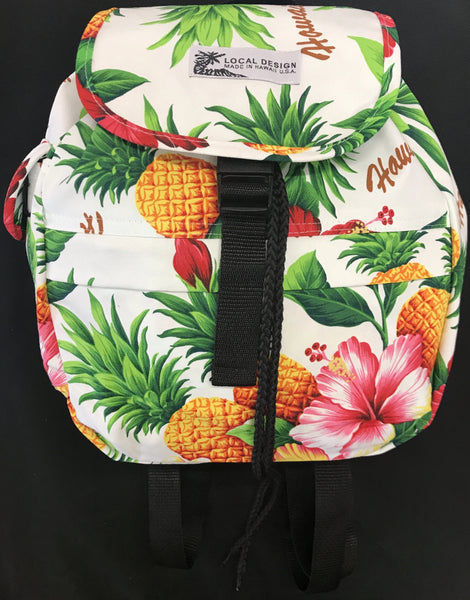 Small Drawstring/Buckle Backpack
