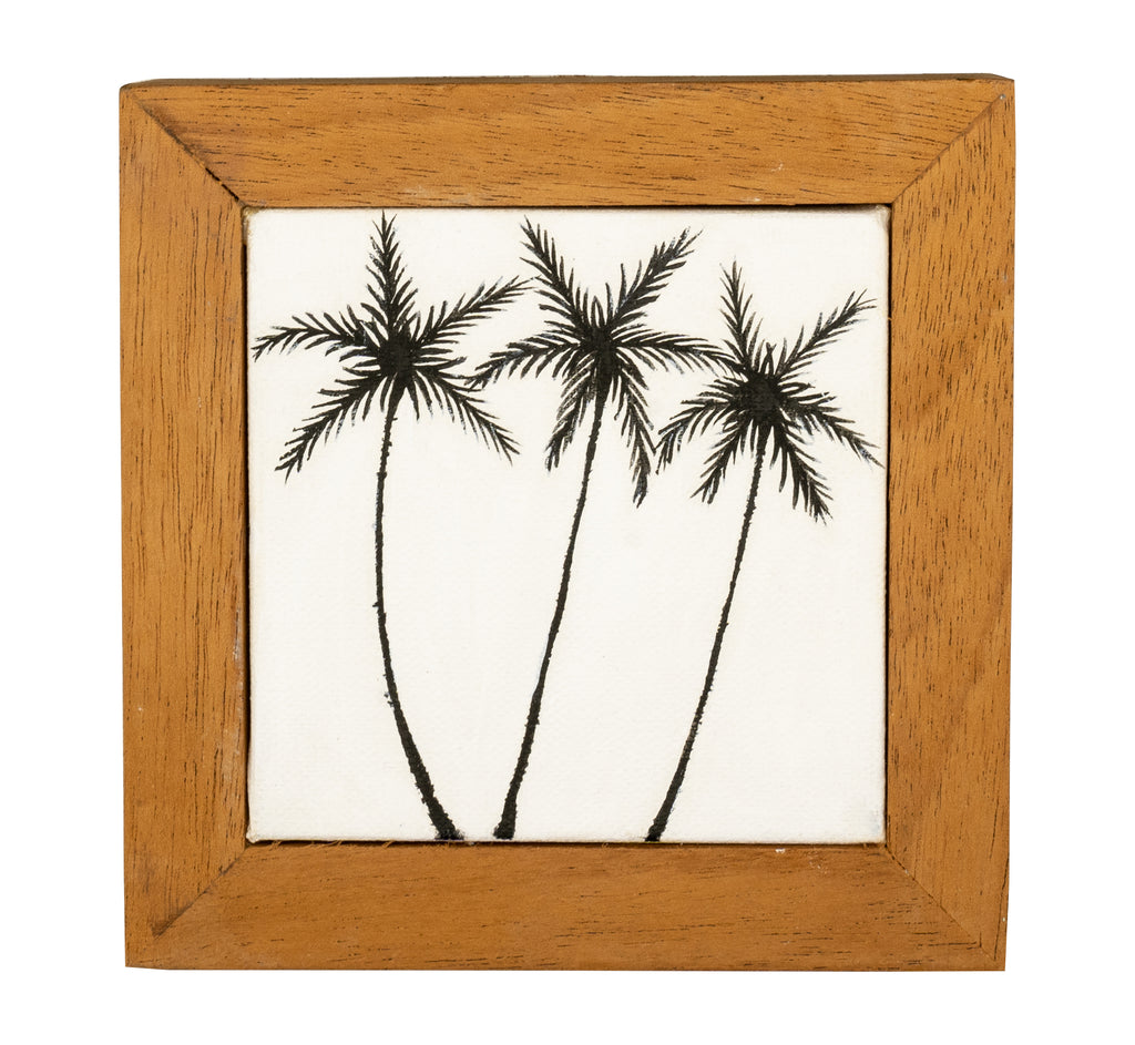 Coco Trees- Mini, framed