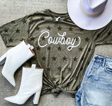 Load image into Gallery viewer, Hello Cowboy Tee