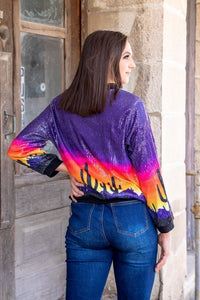 Sedona Sequin Sweatshirt
