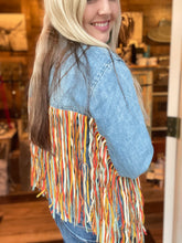 Load image into Gallery viewer, Laramie Fringe Jacket
