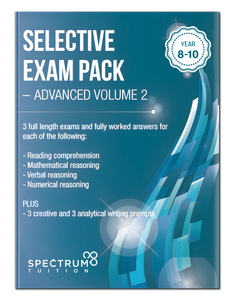 Selective Exam Pack - Advanced Volume 2