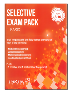 Selective Exam Pack - Basic Volume 1