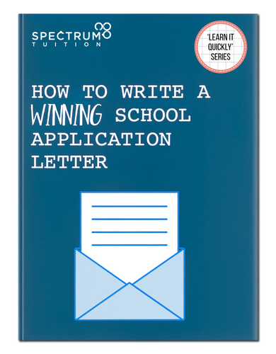 How To Write A Winning School Application Letter
