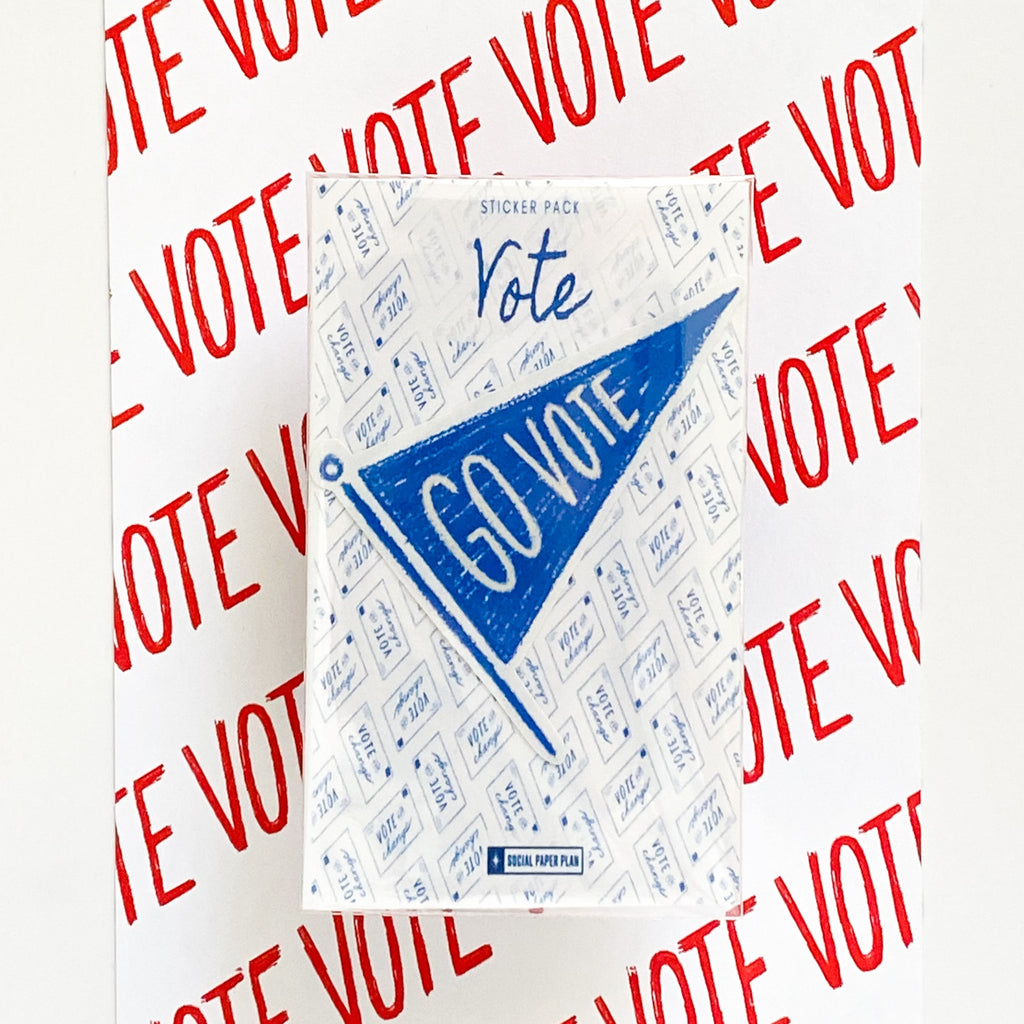 Individual VOTE Stickers