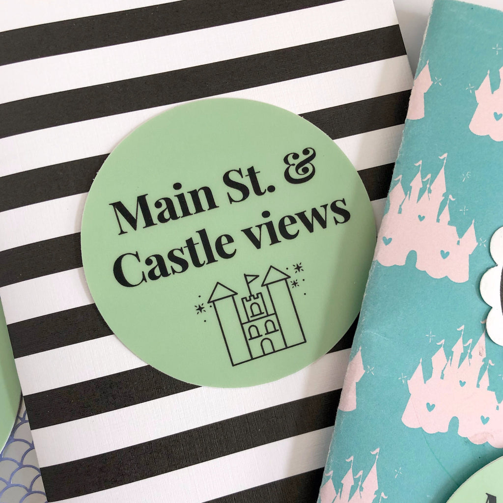 Main St. Views Sticker