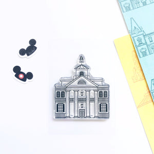 Foolish Mortals Mansion Stamp