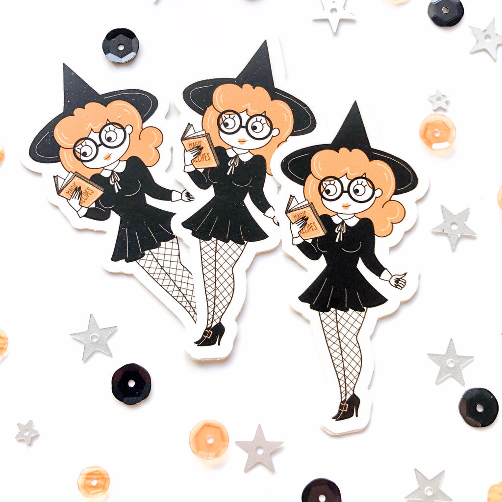 Waterproof Vinyl Sticker Witchy Sticker