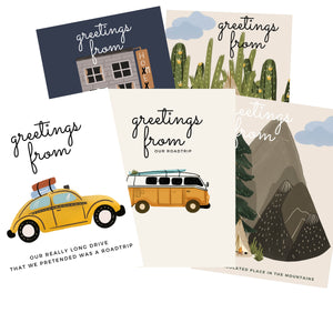 Greeting From Postcards