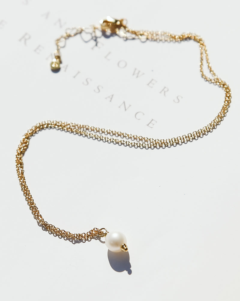 Lindsay Genuine Pearl Necklace
