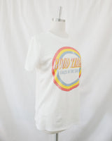 good times white vintage graphic t shirt