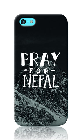 iPhone Cases, Pray For Nepal iphone 5C Case | Artist: Inderpreet Singh, - PosterGully