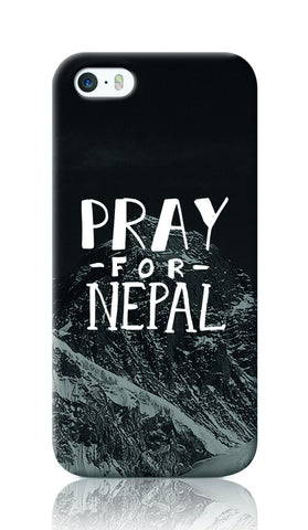 iPhone Cases, Pray For Nepal iPhone 5/5S Case | Artist: Inderpreet Singh, - PosterGully