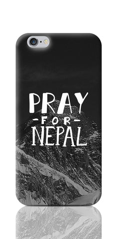iPhone 6 / 6s Cases, Pray For Nepal iPhone 6 / 6s Case | Artist: Inderpreet Singh, - PosterGully