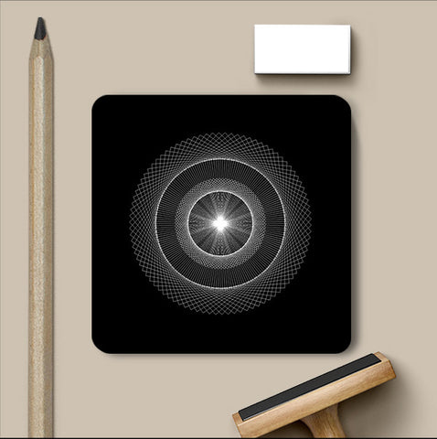PosterGully Coasters, Abstract 3 | Devatrisha Coaster, - PosterGully