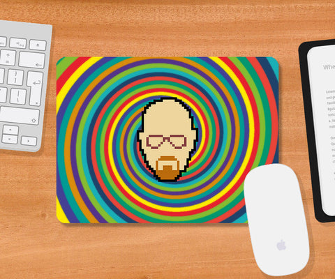 Mousepads, Breaking Bad Psychedelic Mousepad, - PosterGully