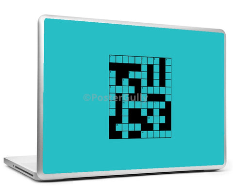 Laptop Skins, Crossword Games Laptop Skin, - PosterGully